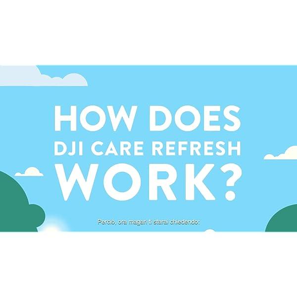 DJI Care Refresh Phantom 4 Pro/Pro+/Pro v2.0 Car Refresh Card I Assicurazione Per Drone, Copre 2 Eventi Accidentali, Garanzia Contro Danni Dell'Acqua E Cadute, Card 2 spesavip
