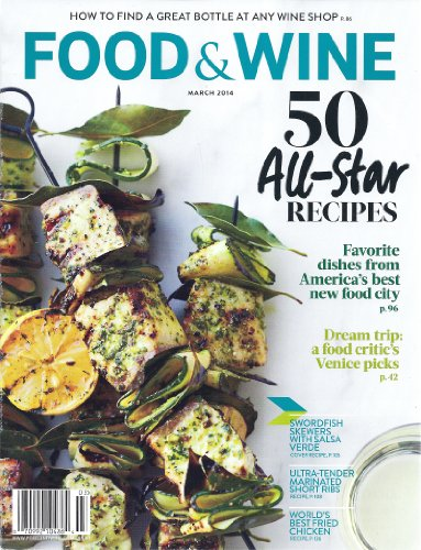 Food & Wine (March 2014)