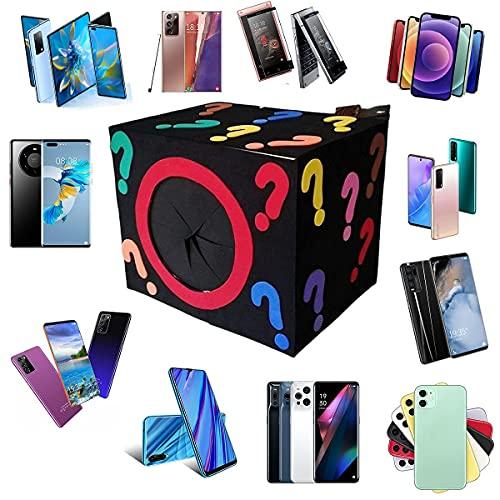 nakw88 Caja misteriosa MYS JUSTICIA CAJA DE LUCKY, MYS -ytery box electronics, MYS Boxes de brazos aleatorios, caja de sorpresa de cumpleaños, caja de novedad para adultos sorpresa regalo, como tablet
