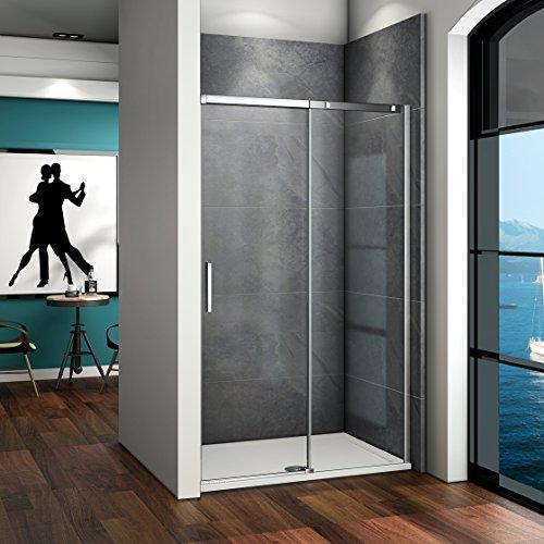 115x195cm Mamparas de ducha puerta de ducha 8mm vidrio templ