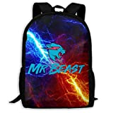 Backpack Mr Beast Backpacks Casual Hiking Daypack Bookbag School Bag For Teen Girls Boys