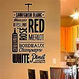 Vinos Sauvignon Blanc Moscato para cocina, comedor, bar