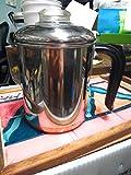 Vintage Revere Ware Copper Clad 6-Cup Percolator # 1516