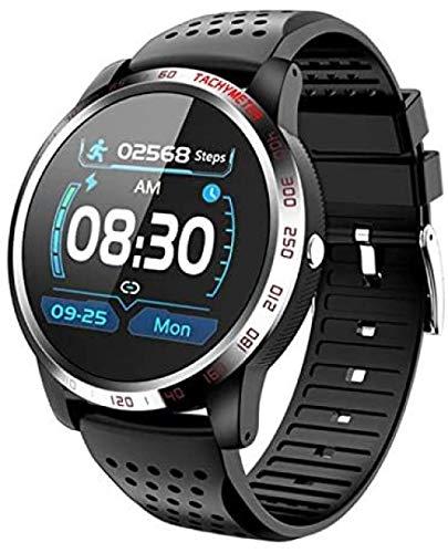 Reloj inteligente para hombre con frecuencia cardíaca y monitor de sueño recordatorio de presión arterial Oxígeno Fitness Tracker Smartwatch pulsera inteligente-B