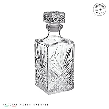 Bormioli Rocco 228450G04021877 Selecta 33-3/4-Ounce Decanter with Stopper