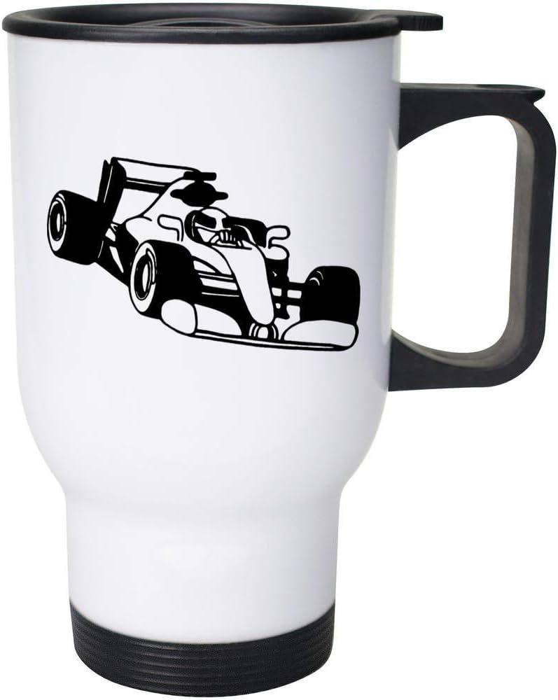 Azeeda 400ml 'F1 Race Car' Coffee Reusable Max 66% OFF MG0002928 Travel Mug famous