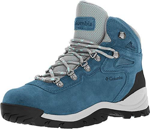Columbia Women's Newton Ridge Plus Hiking Boot, Whale/Iceberg, 9 Regular US