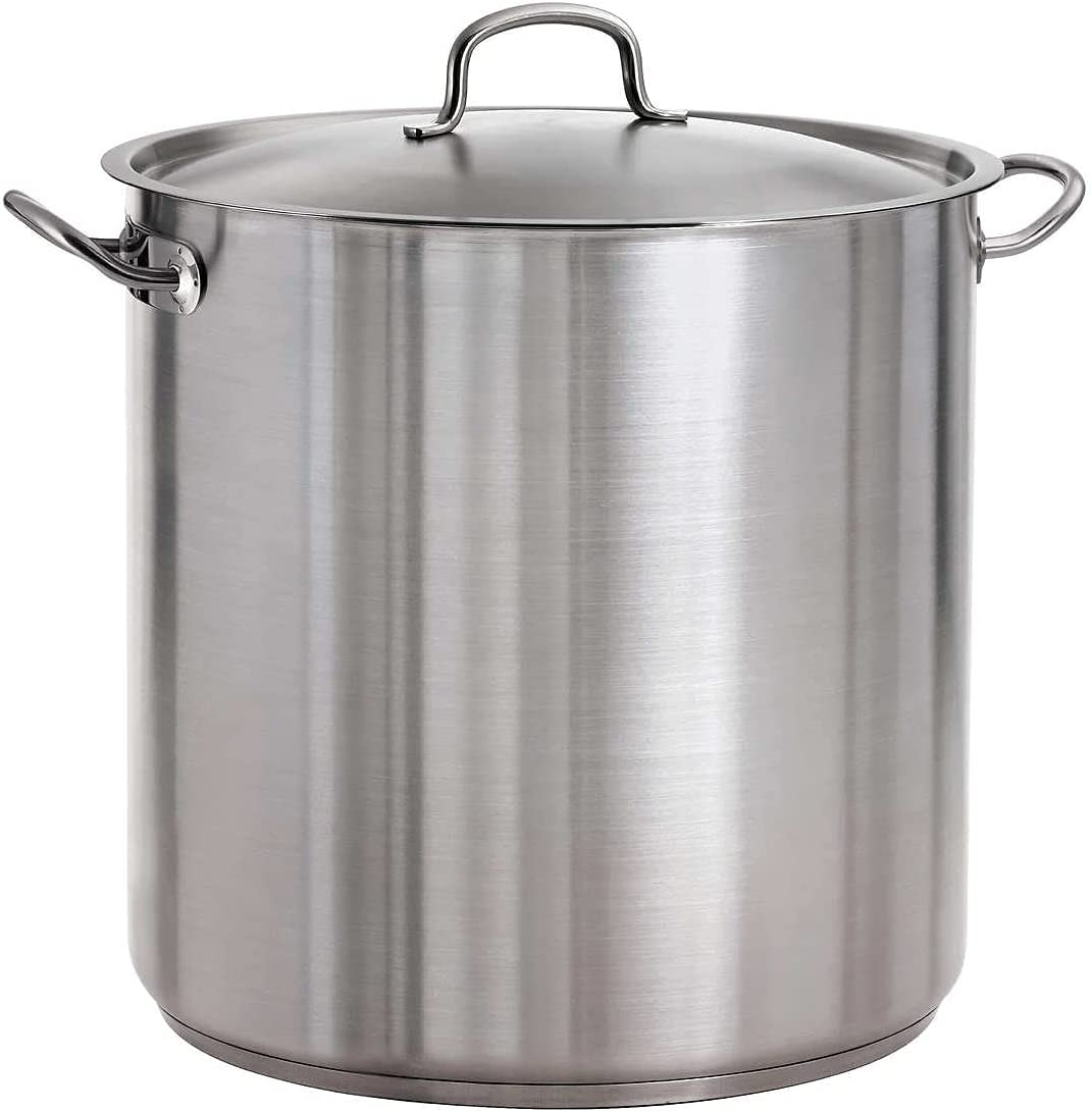 Tramontina Covered Stock Pot Stainless Steel 578DS Qt 80117 38 Washington Mall supreme