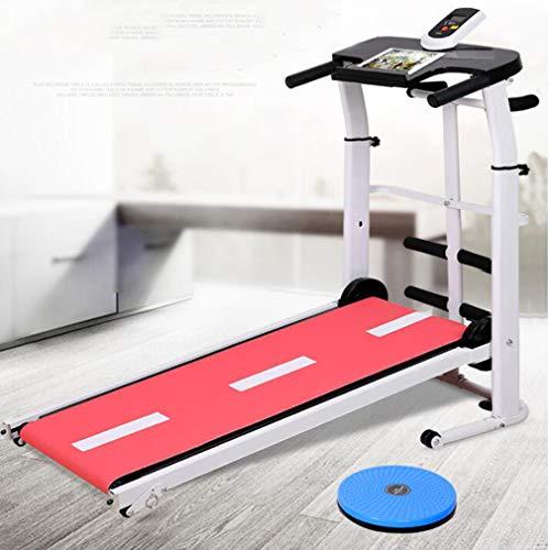 Walking Machine Marche pour Tapis Roulant Pliant Home Gym Exercice,Rose