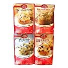 Betty Crocker Muffin Mix Variety Pack - Chocolate Chip, Banana Nut, Blueberry and Triple Berry (25.9 oz Total) (4 Pack)
