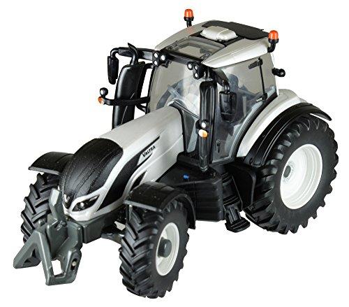 Valtra 43215 T4 Traktor, Britains Schiebe Spielzeug aus hochwertigen Metall und Kunststoff, interaktives Push Toys Spielzeug für Kleinkinder ab 3 Jahren und Fans von originalgetreuen Nachbildungen