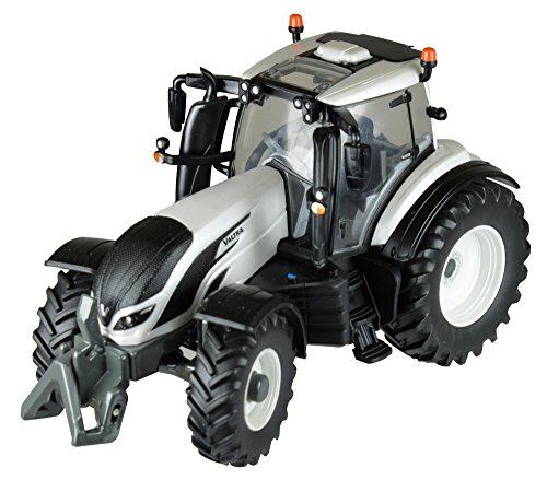 Tomy Britains Valtra T4 Tractor, speelgoedtractor in model 1:32, perfect voor het spelen en verzamelen van kinderen vanaf 3 jaar