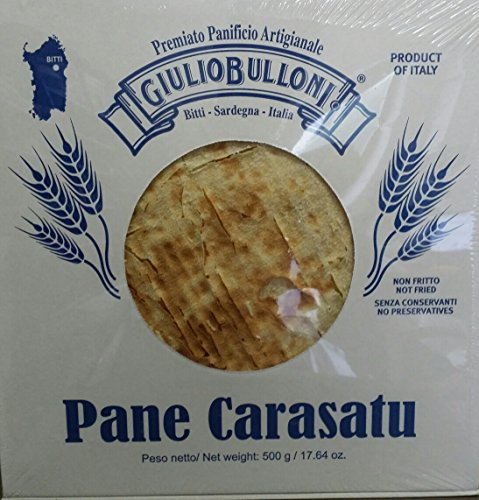 Bulloni Pane Carasatu / Sardisches Brot 500 gr.