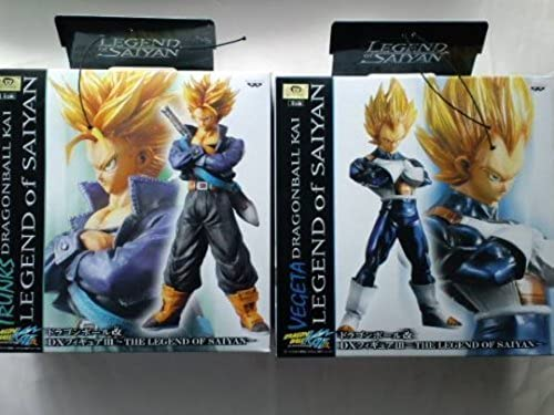 Dragon Ball Kai - DX Figure III [Vegeta & Trunks]