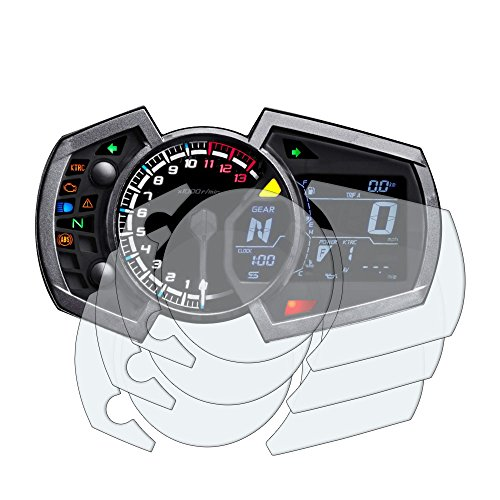 Speedo Angels Dashboard Screen Protector for KAWASAKI NINJA 250/400 (2018+) - 3 x Ultra Clear
