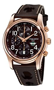 Frederique Constant Men's FC-392CH6B4 Healey automatic Brown Chronograph Dial Watch Sale and Reviews and review
