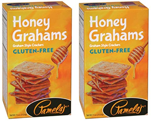 Pamela's Products Gluten-Free Graham Crackers Honey -- 7.5 oz (Pack of 2)