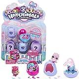 Hatchimals CollEGGtibles, Shimmer Babies Multipack con 4 Personajes y Accesorio Sorpresa (los Estilos Pueden Variar)