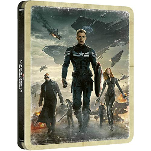 Captain America: The Winter Soldier 4K UHD Steelbook / Import / Includes Region Free Blu Ray