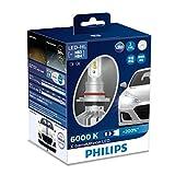 フィリップス ヘッドライト LED HB3/HB4 6000K 3520lm 12V 22W エクストリームアルティノン 車検対応 3年保証 2個入り PHILIPS X-tremeUltinon 11005XUX2