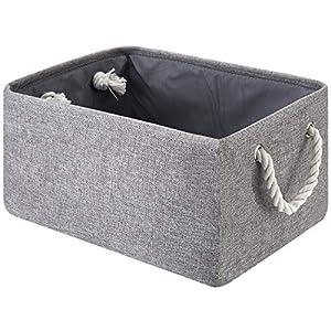 Large Fabric Basket Storage Basket, Decorative Storage Basket for Organizing Baby Toys, Kids Toys, Baby Clothing, Gift Basket