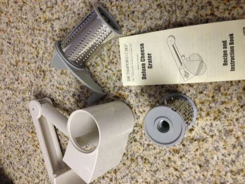The Pampered Chef Deluxe Cheese Grater Home & Kitchen
