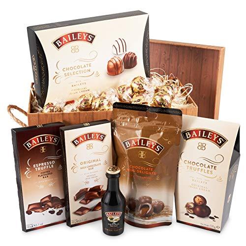 Baileys Schokoladenbrauner Geschenkkorb