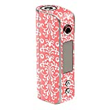 MightySkins Skin Compatible with Sigelei Spark 90W TC – Coral Damask | Protective, Durable, and Unique Vinyl Decal wrap Cover | Easy to Apply, Remove, and Change Styles | Made in The USA