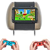 Switch Car Mount TFY - Soporte para reposacabezas de Coche Compatible con Nintendo Switch