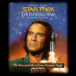 Star Trek: The Eugenics Wars: The Rise and Fall of Khan Noonien Singh, Volume 2 audiobook cover art
