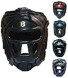 Bout3 MMA Kopfschutz Boxen Helm für Kampfsport Muay Thai Kickboxen