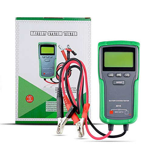 Save %31 Now! H HOLDPEAK Automotive Battery Tester 12V Voltage Checker with Cold Cranking Amps CCA 1...