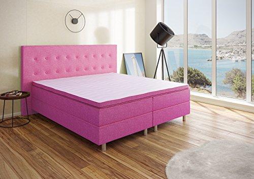 Best For You Boxspringbett Neo First Class Bett Polsterbett in verschiedenen Farben und Größen