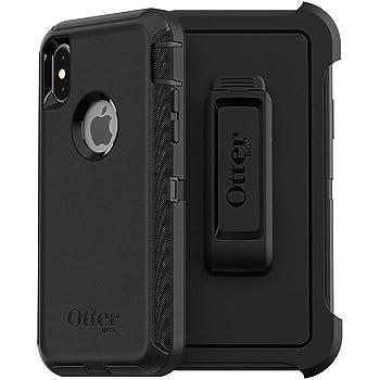 OtterBox iPhone XSケース DEFENDERシリーズ BLACK 耐衝撃 ミルスペック ガラスフィルム付 画面割れ補償【日本正規代理店品】