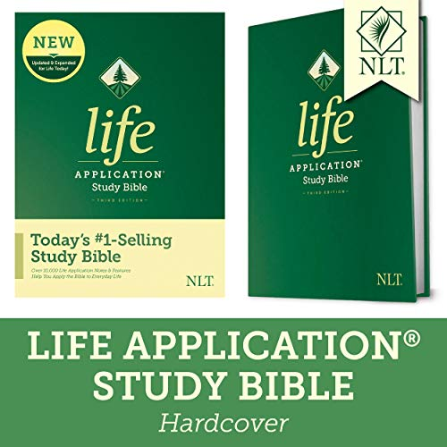 Compare Textbook Prices for NLT Life Application Study Bible, Third Edition Hardcover Tyndale NLT Bible with Updated Notes and Features, Full Text New Living Translation Updated, Expanded Edition ISBN 9781496433824 by Tyndale