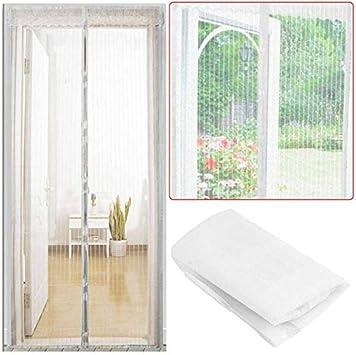 2020 verano cálido familia práctica mosca anti mosquitos cortina de insectos red magnética cierra automáticamente la ventana de la puerta ventana cortina de cocina F1 W 100 x H 210 cm