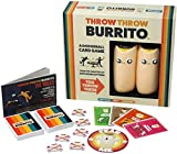 ICVDSRG Throw Throw Burrito Card Game,A Dodgeball Card Game