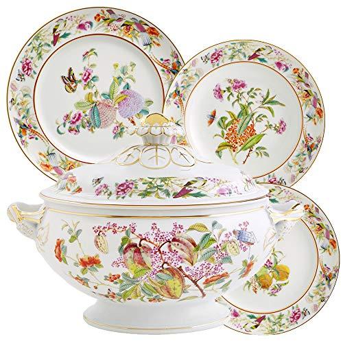 Paço Real - Juego de vajilla (porcelana, 70 piezas)