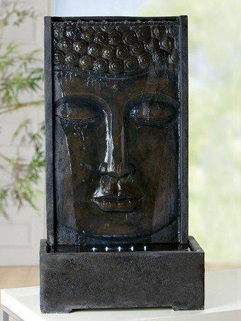 RIESIGER BRUNNEN BUDDHA 90cm HÖHE WETTERFEST