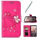 Robinsoni Custodia Compatibile con Huawei P30 Lite Case Libro Flip Huawei P30 Lite Cover P...