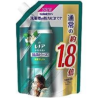 【P&G】レノア 本格消臭+ 部屋干しDX 抗菌ビーズ グリーンフレッシュハーブの香り つめかえ用 特大サイズ 760mL×6個セット