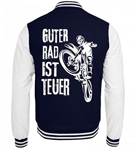 Hochwertige College Sweatjacke - Motocross T-Shirt Guter Rad Ist Teuer Cross Motorrad Biker Enduro Motocrosser Geschenk