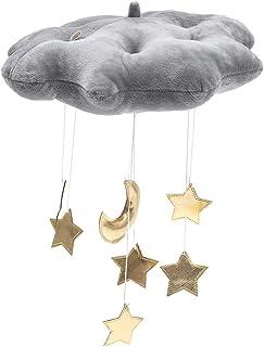 Puddingt® Nuage Pendaison Décoration Flottant Pendentif avec Étoiles Lune Lit de Bébé Jouets Chambre Jouer Tente Mur Suspe...