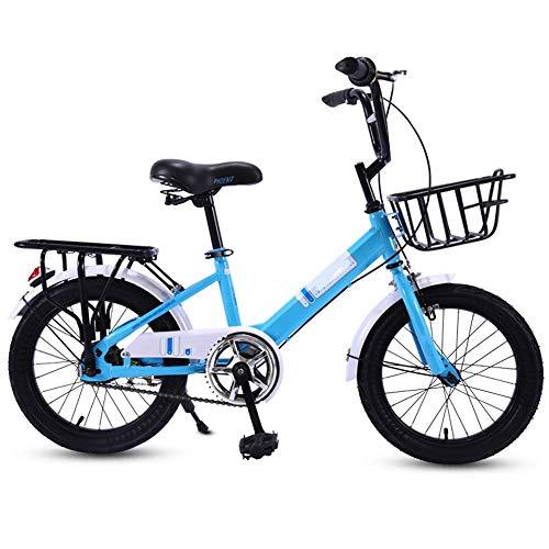 YumEIGE Fiets 16 18 Kinderfiets 20 inch voetensteun fiets kinderfiets voor jongens en meisjes cadeau voor 4-15 jaar verkrijgbaar 18in random color