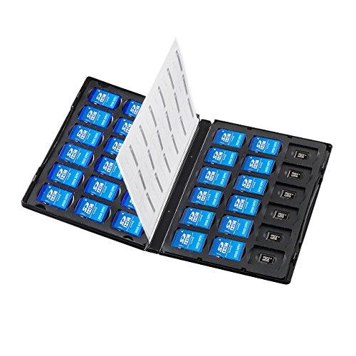 サンワサプライメモリーカード管理ケース(DVDトールケース型、SDカード、microSDカード用) FC-MMC25SDM