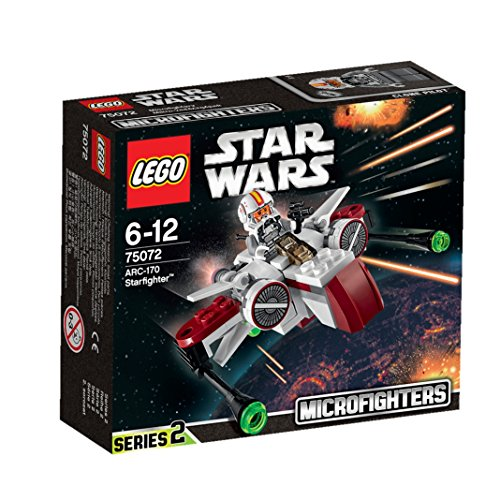 LEGO STAR WARS - Microcaza ARC-170 Starfighter (75072)