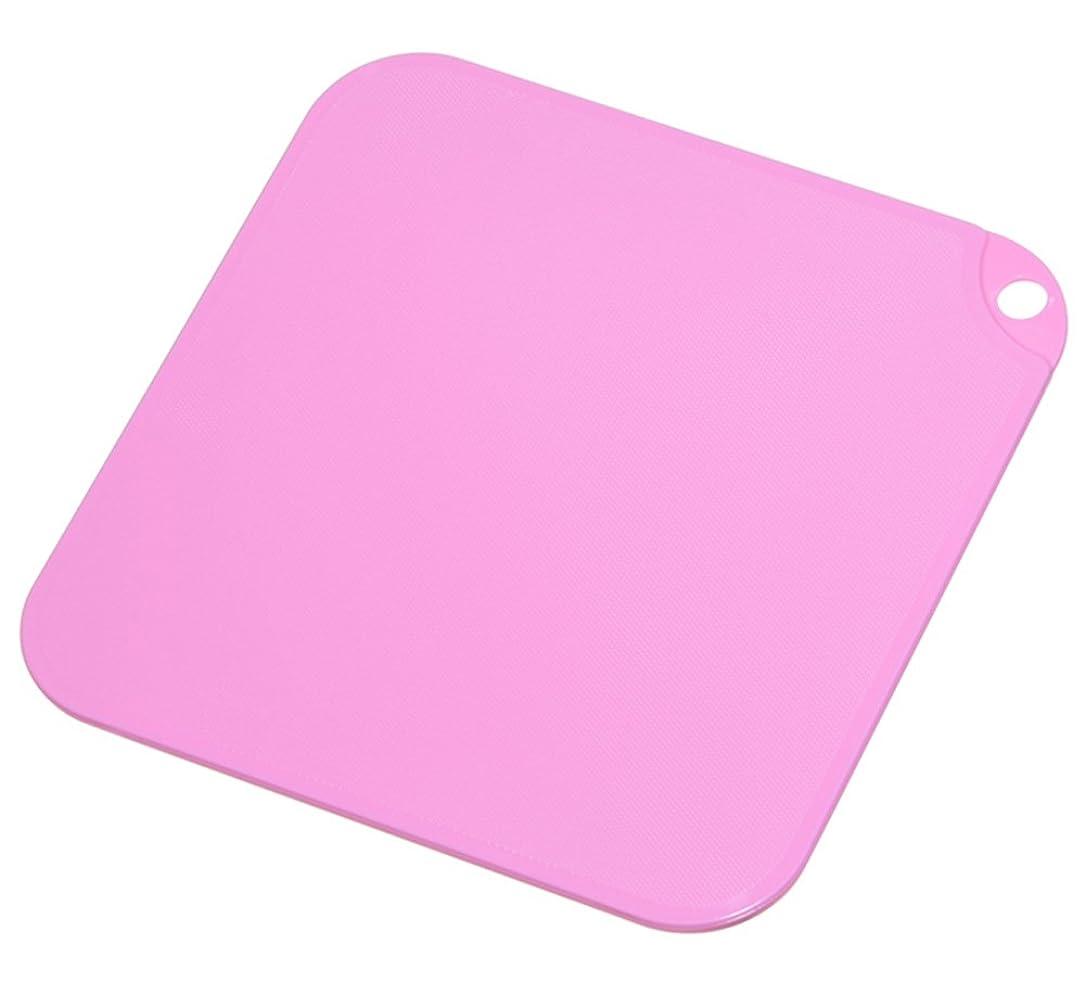 クローゼットハイブリッド想像する新輝合成 トンボ スウィーツパレット まな板 S Nピンク 21×21cm