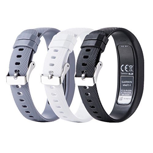 Meiruo Ersatz Zubehör Fitness Band für Garmin Vivofit 4, Armband für Garmin Vivofit 4 (S, Colour 3)