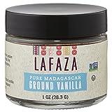 Lafaza All Natural Madagascar Bourbon Pure Ground Vanilla Bean Powder, 1oz