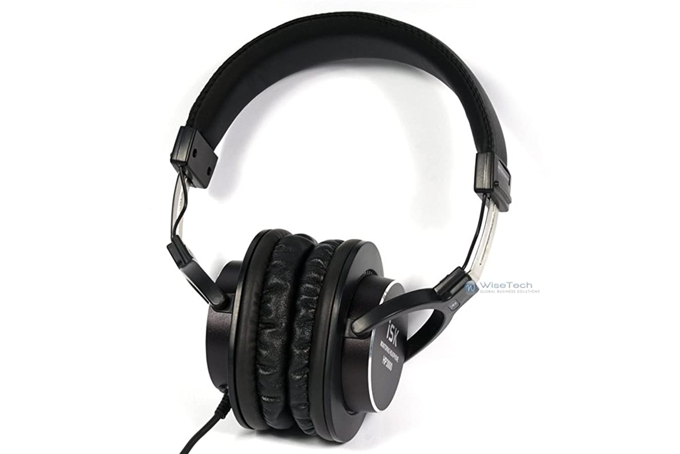 船ドームポテトiSK PROFESSIONAL HI-FI HEADPHONE 黒 HP-3000
